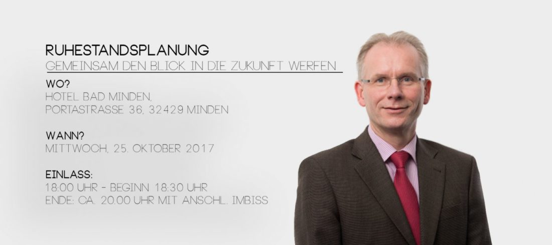 Ruhestandsplanung - Bernd Brinkmann