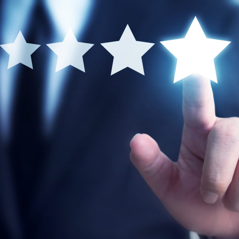 Referenzen - 5-Sterne-Bewertung
